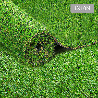 Artificial Grass 10 SQM Synthetic Artificial Turf Flooring 30mm Pile Height Gree