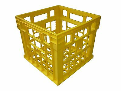 Milk Crate 30LT Plastic Storage Tubs Containers Strong Hobby Bin Crates  Box 30L