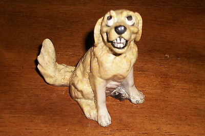 """Kitty Cantrell's """"LEXI"""" Kitty's Kennel Collectable Rare Discontinued Dog Figure"""