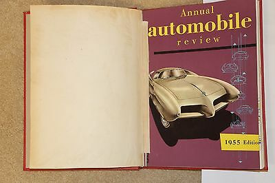 RARE 1954-1955 ANNUAL AUTOMOBILE YEAR Number 2, Hardbound Excellent Condition