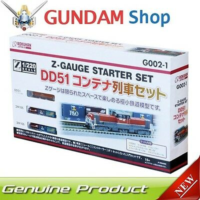 Rokuhan Z Scale Starter Set [ DD51 Container Train Set ] No. G002-1 Japan