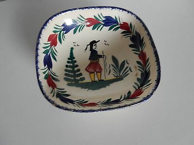 Small Quimper Dish or Bowl
