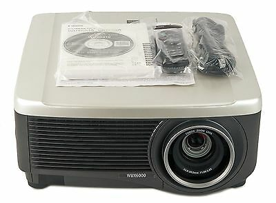 Canon REALiS WUX6000 Professional Multimedia Projector w/Standard Zoom Lens 3013