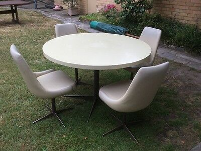 1960's Laminex table and chairs // Kitchen set
