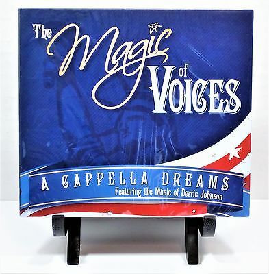 Disney The Magic of Voices A Cappella Dreams Music Of Derric Johnson BRAND NEW