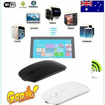 Portable Rechargeable Bluetooth 3.0 Wireless Mouse For Laptop PC Tablets LOT SI