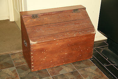 Solid Timber Box, We Used Tis For Firewood Storage