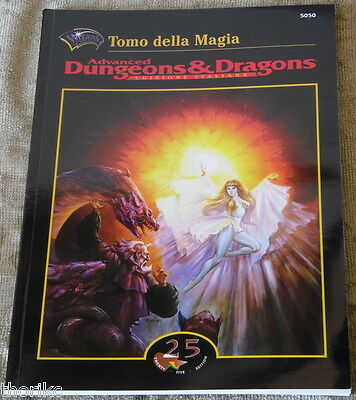 D&d - Ad&d - Tomo Della Magia - Nuovo - Dungeons&dragons - 25 Edition/wotc