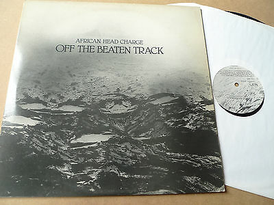 AFRICAN HEAD CHARGE Off the Beaten Track LP ON-U LP40 Adrian Sherwood ON U