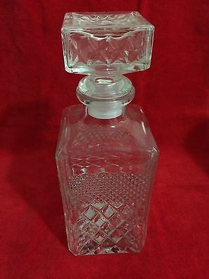 Vintage Crystal Decanter