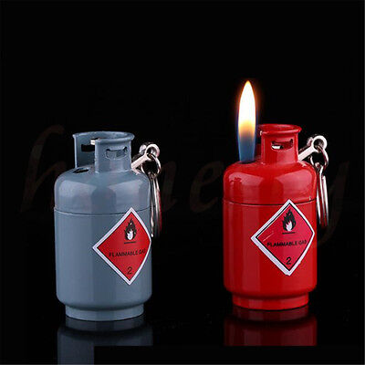 1pc Refillable Jet Flame Butane Windproof Gas Cylinders  Cigarette Lighter
