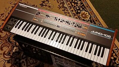 Roland Juno 106 Vintage Polyphonic Analogue Synthesiser Synth Exc Condition 6 60