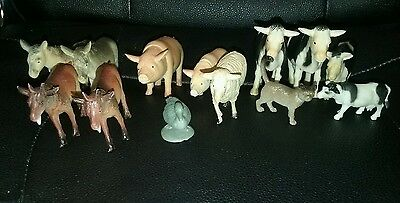 Bundle of Farm Animal Figures