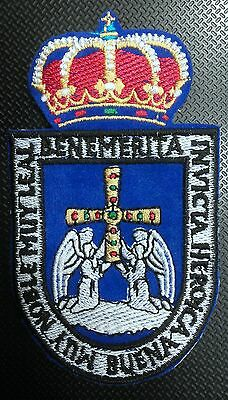 Parche De Tela Bordado Del Escudo De Oviedo, Embroider Patch