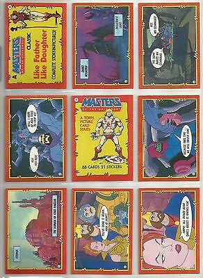 Masters of the Universe - Trading Card Set (88) - 1984 TOPPS - NM