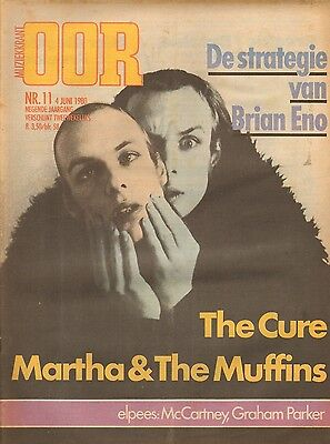 MAGAZINE OOR 1980 nr. 11 - BRIAN ENO / THE CURE / ROY ORBISON / HAAGSE BEATNACH