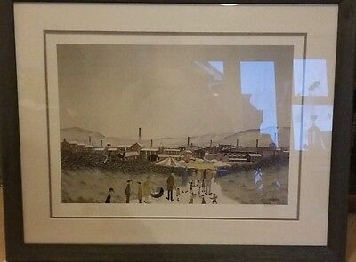 Limited edition signed print by G.W Birks 'Spring Fair'!! RARE