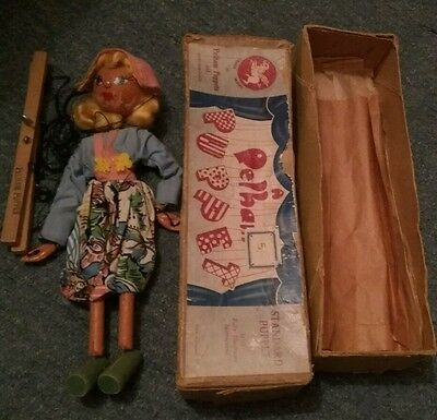 Vintage Pelham Puppet For Restoration- Very Old