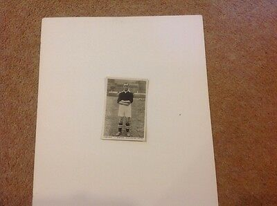 No 57  Sporting Events and Stars, T Bamford, Football, 1935 Man Unt