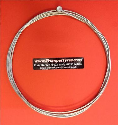 Vespa P 150 X 78 81 Clutch Cable Large Barrel Nipple, High Strength Braided Wire