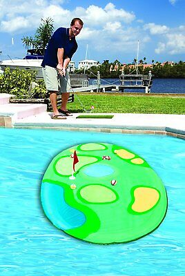 Swimways Pro Chip Spring Golf Set for Swimming Pools