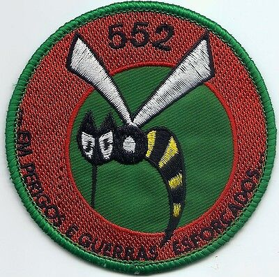 Portuguese Air Force Portugal 552 Esquadra Alouette Iii Patch Parche