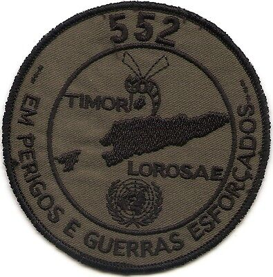 Portuguese Air Force Portugal 552 Esquadra Alouette Iii Timor Onu Patch Parche