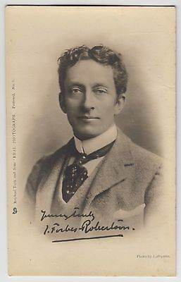 """POSTCARD - Forbes Robertson, actor, Tuck """"Celebrities of the Stage"""" #8, UB"""