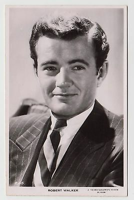POSTCARD - Robert Walker, movie star film cinema actor, #245, RP