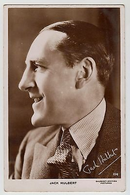 POSTCARD - Jack Hulbert #156, movie film cinema actor, real photo RP