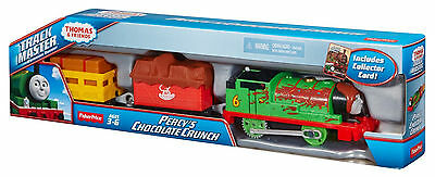 Fisher-Price Trackmaster THOMAS & FRIENDS Percy's chocolate Crunch Motorized