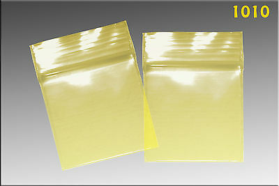 Zip Lock baggies 1.0 x 1.0 (1000/pack) - Yellow