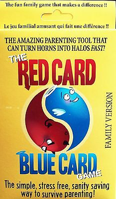 The Red Card Blue Card Game -Child Behavior & Discipline Support for Parent Use