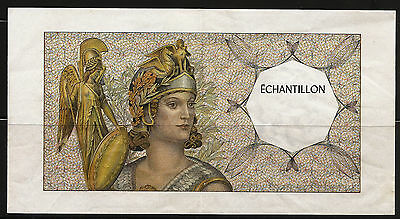 Billet ECHANTILLON Athéna - Type 200 Francs Montesquieu. (1990-1995). France