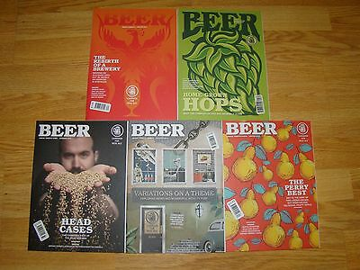 Winter 2015 - Winter 2016 issues of CAMRA BEER Magazine