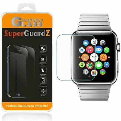 Apple Watch Screen Protector 2 38 mm Tempered Glass Shatterproof 9H, 0.3 mm, New