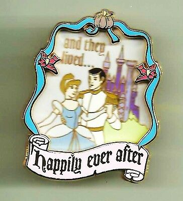 Wdw Cinderella & Prince Charming Happily Ever After Portrait Castle Disney Pin