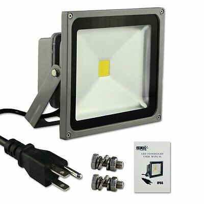 Escolite Spotlights Security Light led flood light White 30w IP65 Waterproof RB5