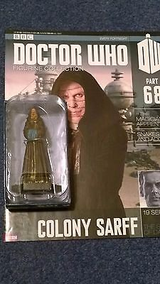 Eaglemoss doctor who figurine collection - Issue 68: COLONY SARFF