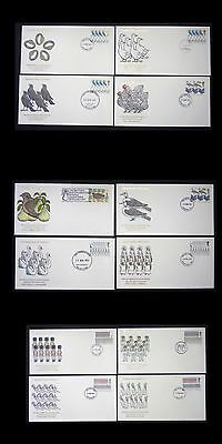 United Kingdom. 12 First Day Cover Lot. 1977. 12 Days Of Christmas