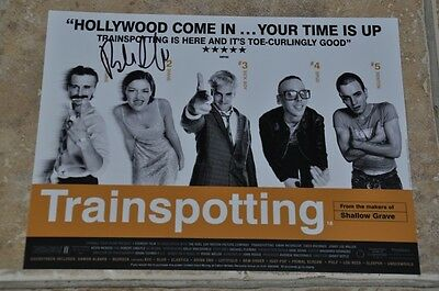 "Trainspotting Signed 10.5"" x 8"" Colour Photo Signed By Robert Carlyle"