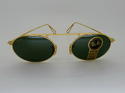 RayBan B&L W1696 Oval Arista Vintage Collection G-15 XLT Box/Case NEW!