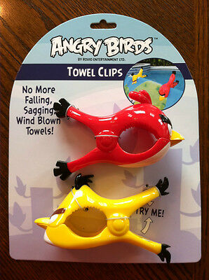 Angry Bird Towel Clip. Brand New. Very Strong.