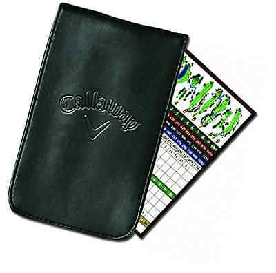 Callaway Synthetic Leather Score Card Holder - Black