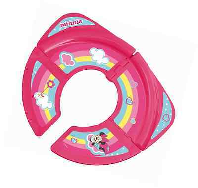 Disney Baby Minnie Mouse Foldable Travel Toilet Training Seat
