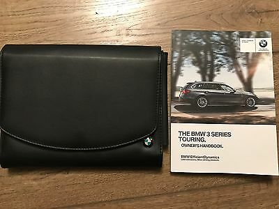 Genuine Bmw 3 Series Touring Owners Manual And Wallet 2013-2016