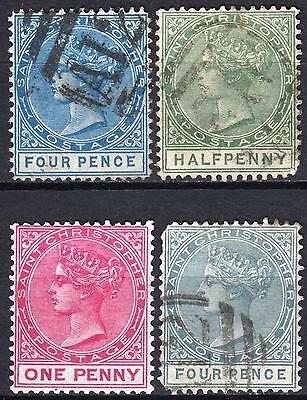 St Christopher QV, SG 8, 11, 13 & 18, Cat £20