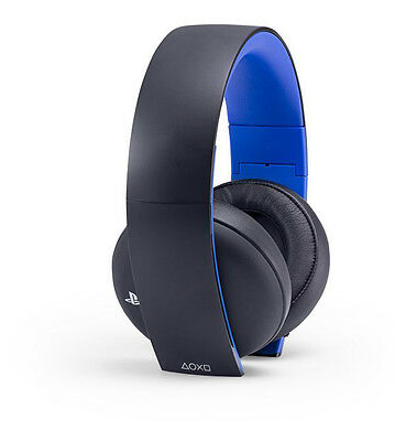 Sony PlayStation Gold Wireless Headset for PC/PS3/PS4/PSVITA 7.1 Surround Sound