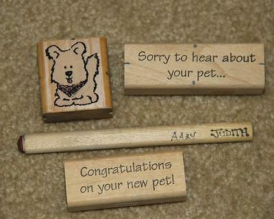 Pets - Rubber Stamps (4),