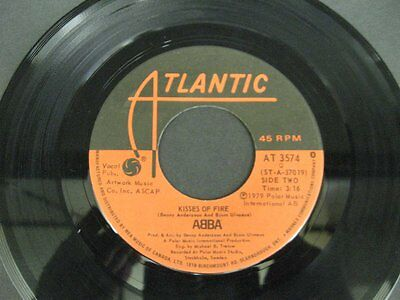 """ABBA does your mother know - 45 Record Vinyl Album 7"""""""